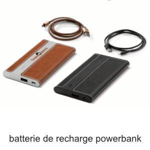 batterie de recharge pour smartphone powerbank